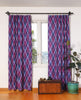 Ikat boho window covering