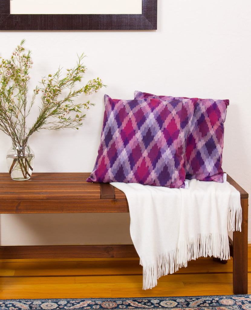 "18"" Ikat Decorative Pillow"