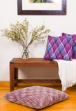 "24"" Silk Decorative Floor Pillow"