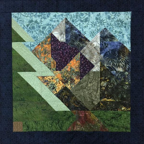 Shop Hop Quilt Block version B