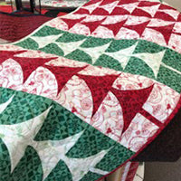 Christmas Tree Table Runner Finished