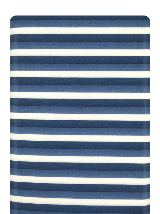 Color Theory Ombre Stripes Navy Moda Fabrics