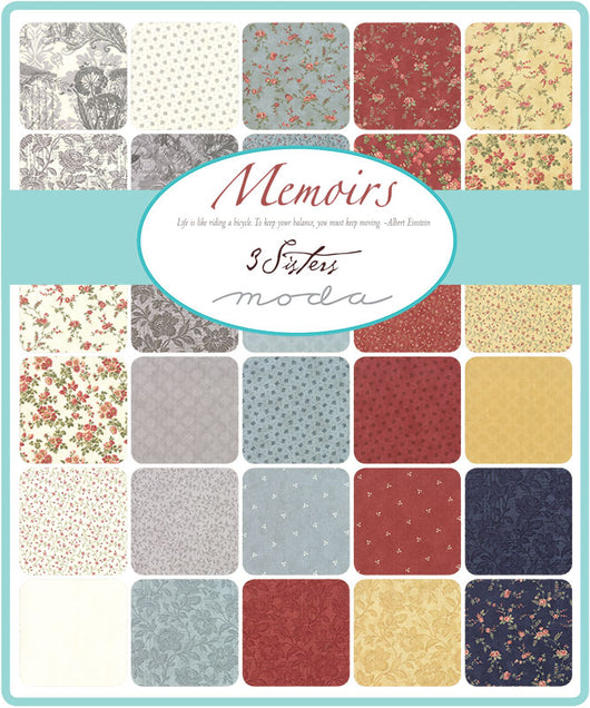 Memoirs Layer Cake Precut  Moda 44210JR