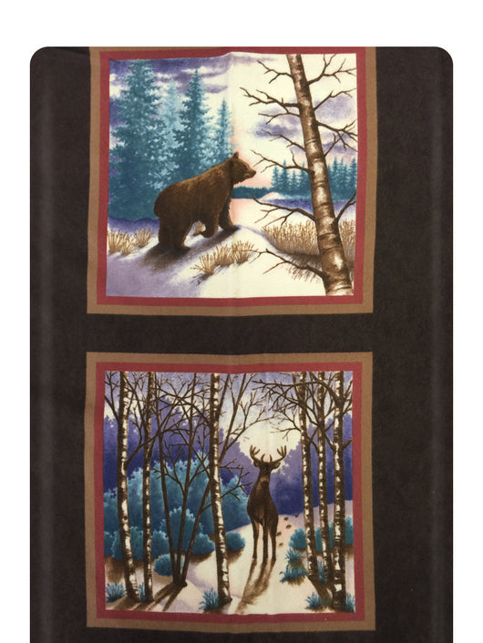 Winter Forest Panel Sable