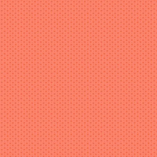 Asterisk Orange Fabric A-5703-02