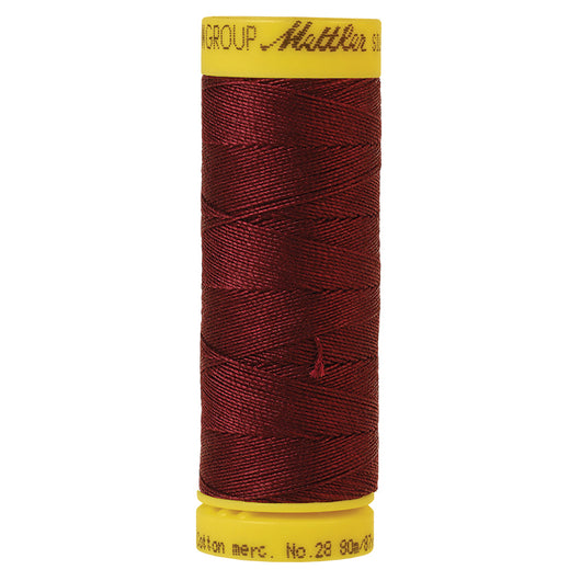 Beet Red Mettler 28wt Thread 0111