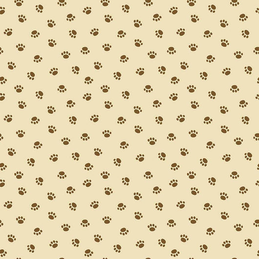 Rover Paw Tan Riley Blake Designs - C 5213