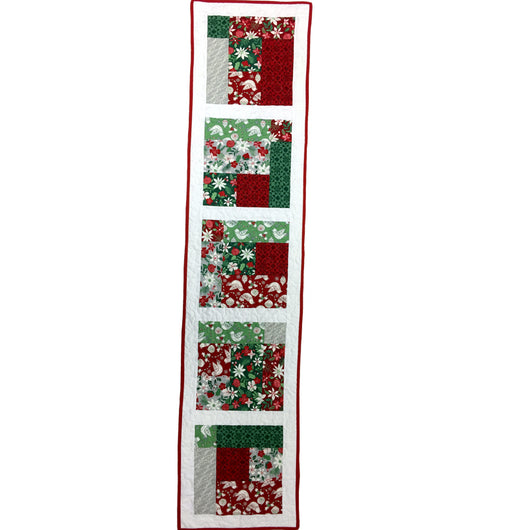 Christmas Table Runner Quilt.Christmas Table Runner Quilt Kit