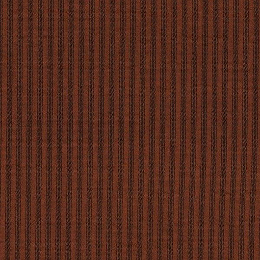 Dots & Stripes Rust Brown by RJR Studio Fabric 2959-12