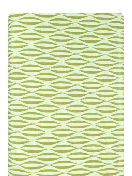 Flow Waves Apple Fabric 1594 18