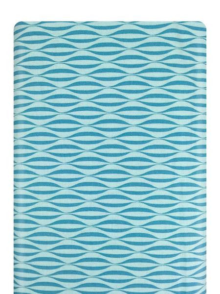 Flow Waves Teal Fabric 1594 16