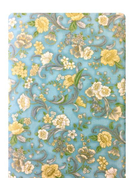 Grand Majolica Vintage Blue Fabric 15839-200 VINTAGE
