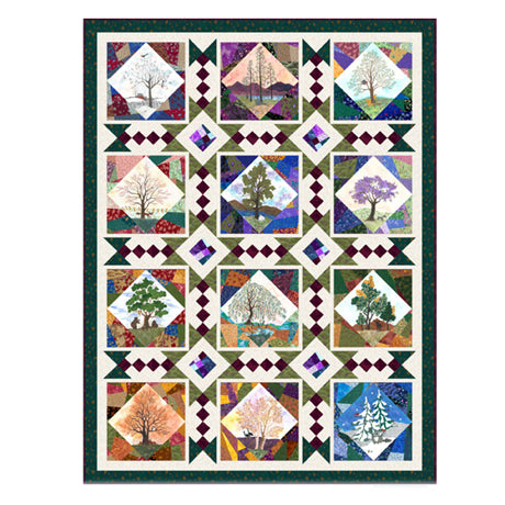 His Majesty, the Tree by QT Fabrics. Quilt Pattern