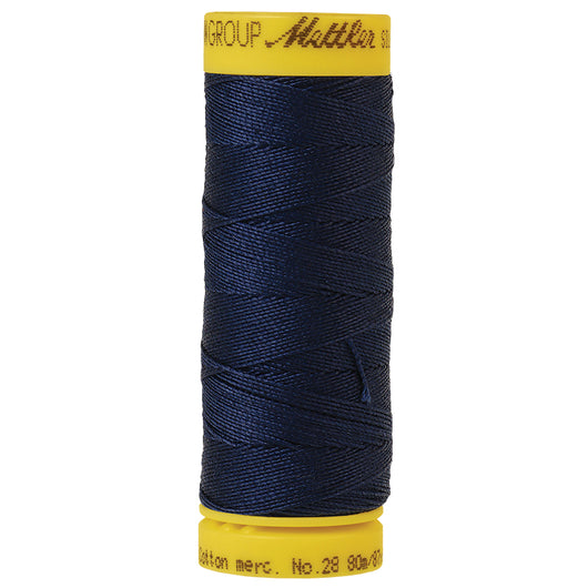 Navy Mettler 28wt Thread 0825