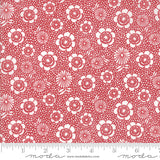 Oxford Prints Red Floral 5710 17