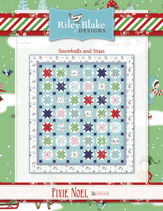 Pixie Noel Snowballs and Stars Free Pattern