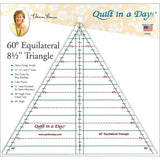 Quilt In A Day Triangle 60 Degree Equilateral Ruler