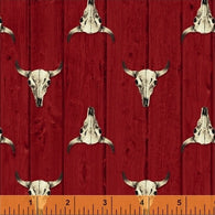 Ranch Hands Longhorn Red 42582-2