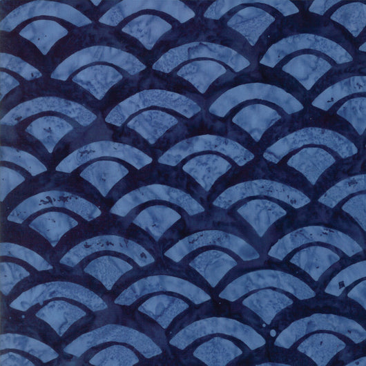 Sunday Drive Midnight Blue Shell Fabric 43076 54