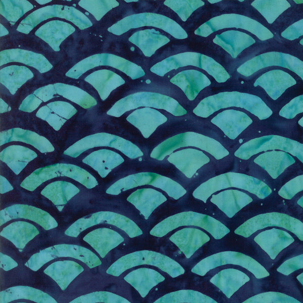 Sunday Drive Midnight Pond Shell Fabric 43076 52