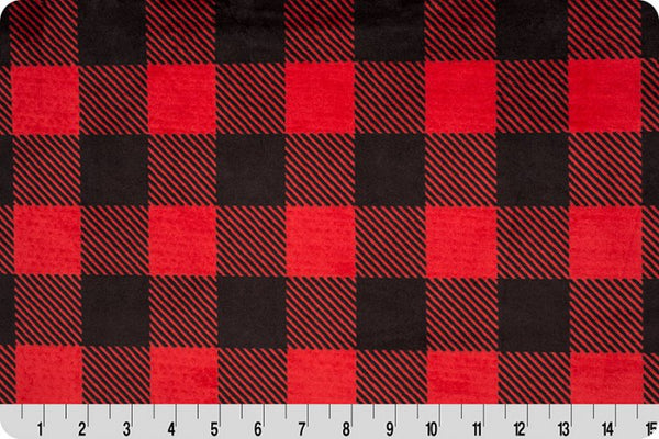 Cuddle Buffalo Check Scarlet/Black
