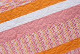 From Bump To Baby Stripe Baby Quilt