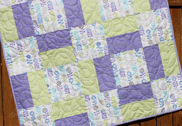 From Bump To Baby Quilt