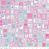 Lovey Dovey Baby Quilt Kit