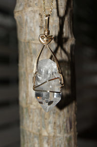 """Becca's Favorite Things"": My Wrapped Quartz Necklace"