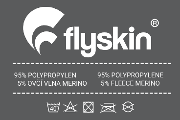 FlySkin Care Label