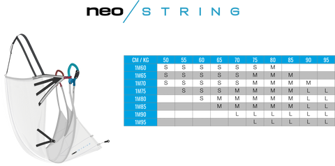 NEO has launched a new version of the Ultra-light harness for paragliding and speed flying: The String. Ideal for mountain flying, Hike and Fly, and flying trips. The NEO String is precise and stable; you can enjoy the ride in thermals and even go XC, thanks to genuine comfort