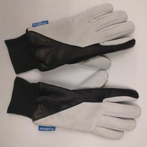 Fly2Base Paragliding Leather Gloves