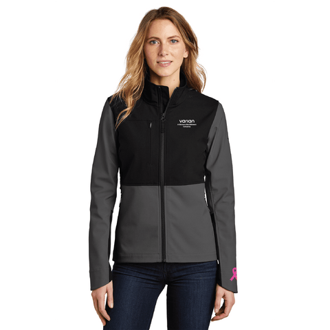 Pink Innovation Ladies The North Face® Castle Rock Soft Shell Jacket