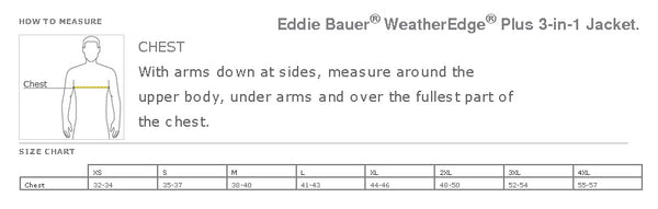 Men's Eddie Bauer WeatherEdge® Plus 3-in-1 Jacket