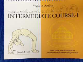 Geeta Iyengar - Yoga in Action:Intermediate Course I - Book