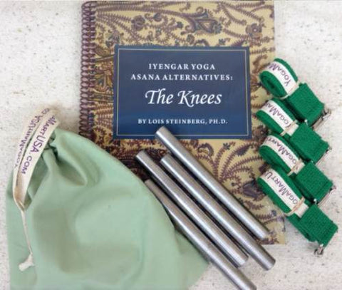 Knee Rod Kit with Book - Book out of Stock order Rods and Straps separately