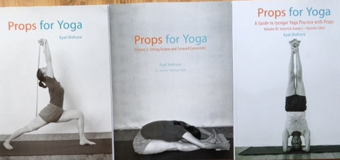 Eyal Shifroni - Props for Yoga - Set of 3 - Vol I, 2 & 3