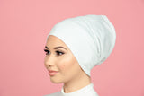 Plain Ivory Bonnet