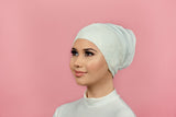 Lace Ivory Bonnet
