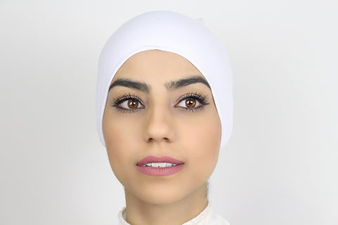 Plain Dark Ivory Bonnet
