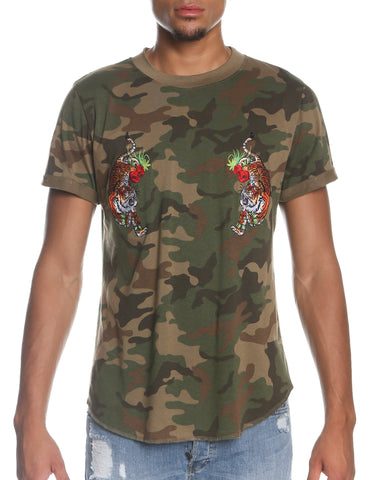 "Camo ""Flying Tiger"" Tee"