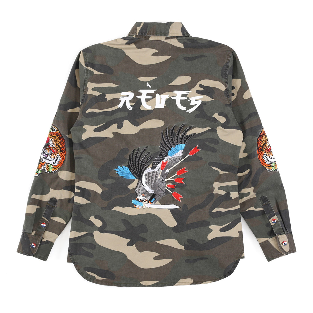 Camo Embroidered
