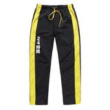 "Black/Yellow ""Yabai"" Track Pants"