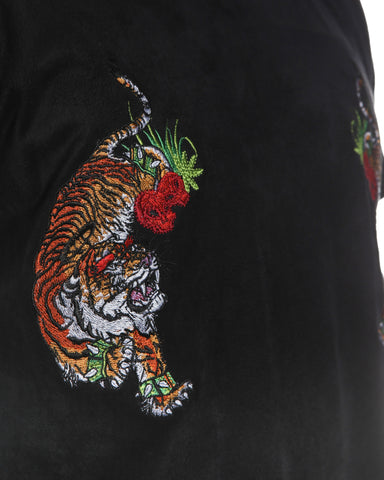 "Black Suede ""Flying Tiger"" Tee"