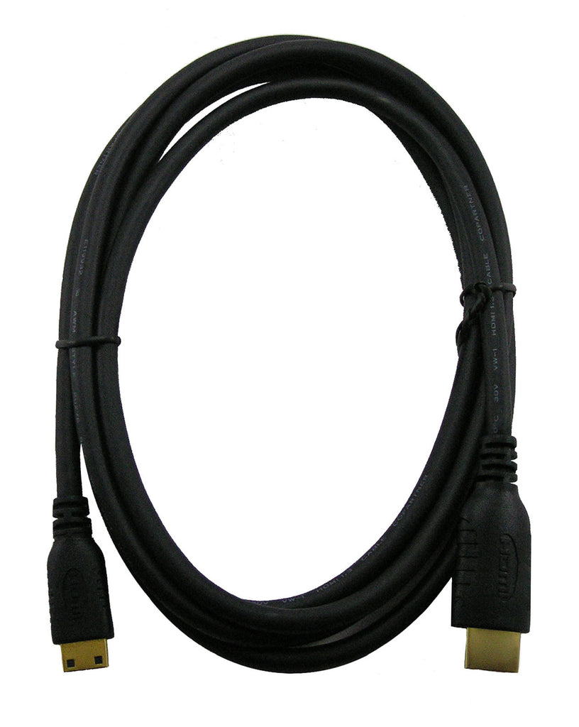 6ft HDMI Mini to Standard HDMI Cable
