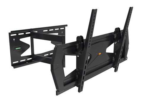 "Anti-Theft Full-Motion Black Tilt/Swivel Wall Mount for 37"" - 70"" TVs (WM90)"