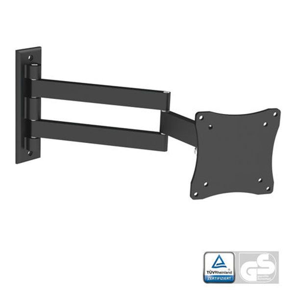 "Full-Motion Black Tilt/Swivel Wall Mount for 13"" - 27"" TV/Monitor (WM101)"