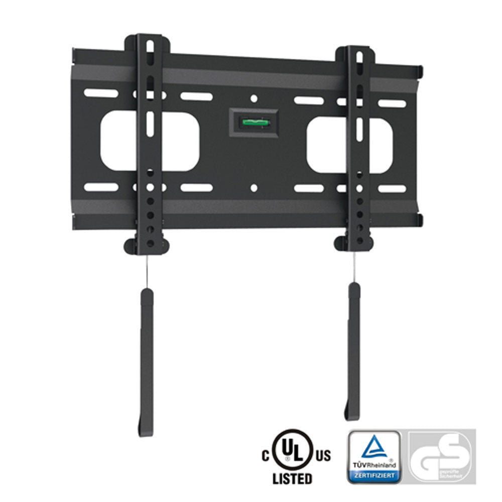 "Ultra-Slim Black Fixed Low-Profile Wall Mount for 32"" - 55"" TVs (WM40)"