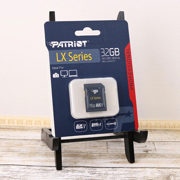 32GB Class 10 UHS-I Secure Digital High Capacity SDHC Memory card by Patriot Memory
