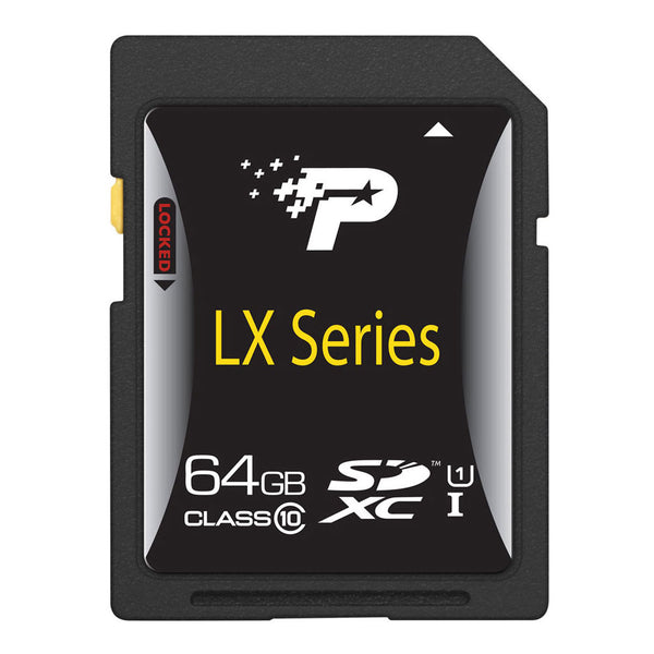 Patriot LX 64GB SDXC Class 10 UHS-I Memory Card